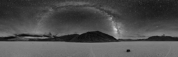 Milky Way view from Death Valley 2007